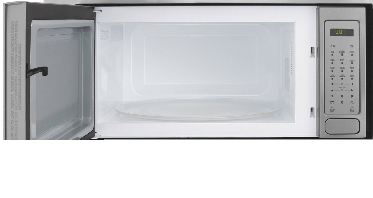 FPMO209KF Professional Series 2.0 cu. ft. Countertop Microwave Oven with 1200 Cooking Watts 3 Auto Cook Options Sensor Cook 7 User Preference Options and One-Touch Options Stainless