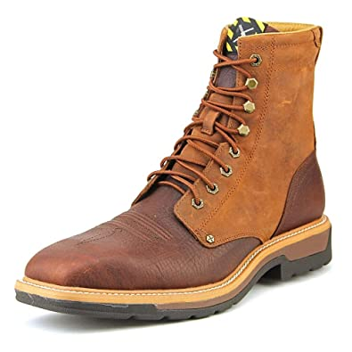 b7f7327ee19 Amazon.com: MLCSLW1 Twisted X Men's Lite Cowboy WP Safety Lacers ...