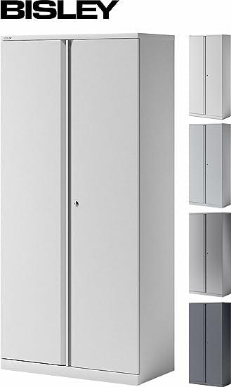 Büroschrank abschließbar  BISLEY Aktenschrank | Büroschrank | Flügeltürenschrank aus Metall ...