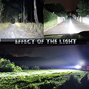 Nilight 22 120w LED Light Bar Flood Spot Combo Work Light  Driving Lights Fog Lamp Offroad Lighting for SUV Ute ATV Truck 4x4 Boat,2 Years Warranty