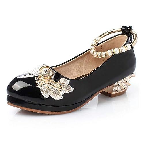 nuevo barato en venta al por mayor los recién llegados Fullwill Zapatos de Vestir para niñas con Diamantes de imitación ...