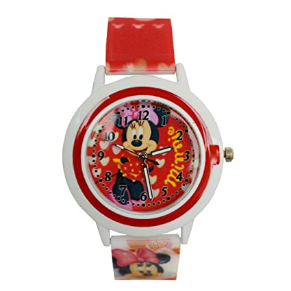 VITRENDTM Minnie New Round Dial Ana Long Birthday Gifts Watch For Boys And Girls Sent As Per Available Colour Amazonin Toys Games