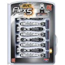 BIC Flex 5 Men's Disposable Razor, 8-Count