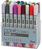 Copic I36-E Ciao Markers Set