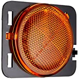 Depo 333-1418R-AS Jeep Wrangler Passenger Side Replacement Side Marker Lamp Assembly