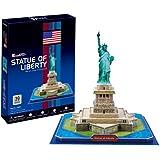 CUBIC FUN C080h - 3D Puzzle La Statua della Libertà - New York - USA