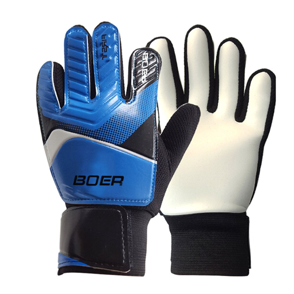 Baring Kidsゴールキーパーgloves-kids通気性ゴールキーパーグローブサッカーゴールキーパーグローブHelp You Make Brilliant Saves inサッカー一致 B076SVV76M 5(for Grade 1-3)|ブルー ブルー 5(for Grade 1-3)