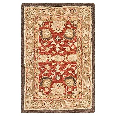 Safavieh Anatolia Collection AN512A Handmade Beige Wool Area Rug