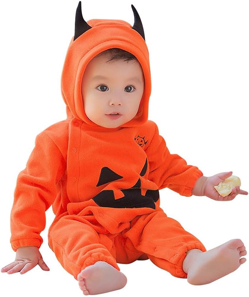Disfraz Halloween Bebe Monos Unisex Bodies Bebe Estampado Calabaza ...