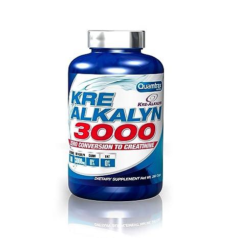 Quamtrax Nutrition Kre Alkalyn 3000-240 Capsulas: Amazon.es: Salud ...