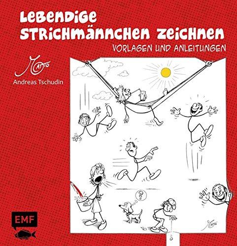 Lebendige Strichmännchen Zeichnen  Vorlagen Und Anleitungen