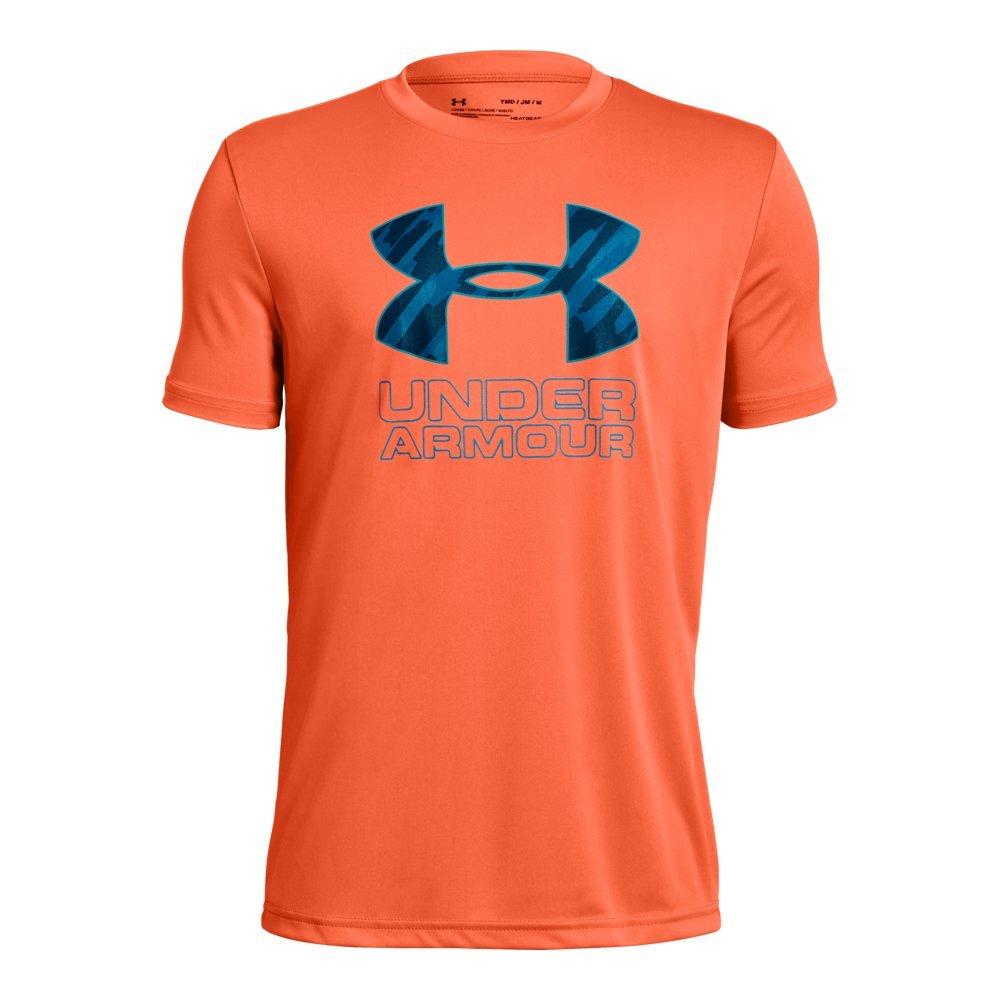 Under Armour UA Print Fill Logo YLG Magma Orange