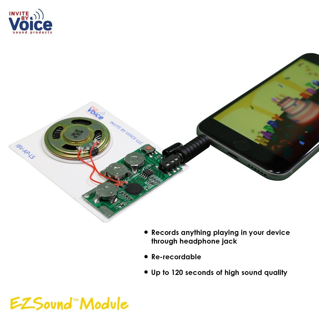 amazon com ezsound module light activated easy to record 120