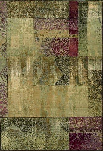 Oriental Weavers 1527X Area Rug, 5-Feet 3-Inch by 7-Feet 6-Inch