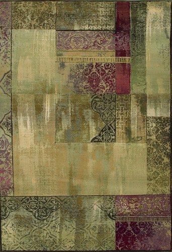Oriental Weavers Generations 1527X Area Rug, 5-Feet 3-Inch by 7-Feet 6-Inch (Furniture Weavers Oriental)