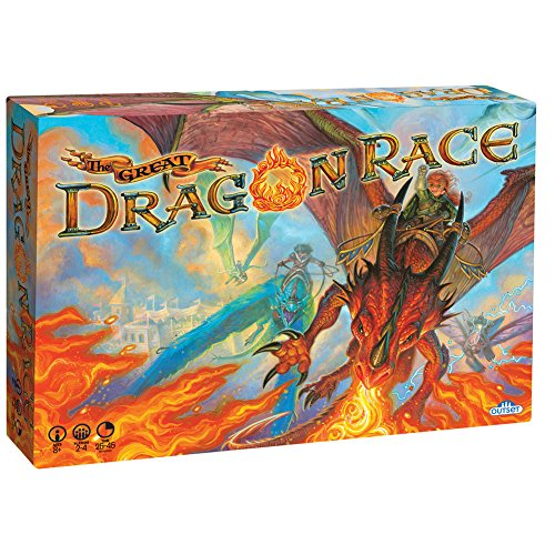 Fantasy Board Game - the Great Dragon Race - To the Victor Goes the Treasure Dragon Board Game