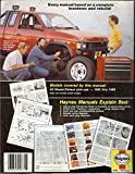 img - for Nissan/Datsun Pick-ups and Pathfinder, 1980-88, All 2WD and 4WD Models with Gasoline Engine (Haynes owners manual series) book / textbook / text book
