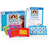 hand2mind Learn to Read with BOB Books & VersaTiles Beginning Readers Set, Early Reader Books for Kids Ages 4-6, 12 BOB Books