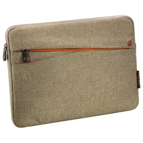Pedea Tasche mit Zubehörfach für Tablet 25,6 cm (10,1 Zoll) beige
