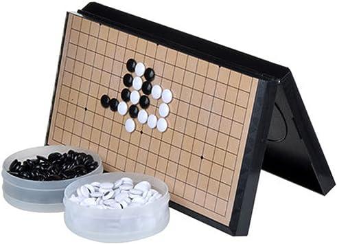 FunnyGoo M Go Juego de Mesa de ajedrez con Piedras plásticas M ...