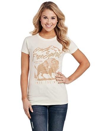 d8fc83da Amazon.com: Cowgirl Up Western Shirt Womens Free Spirit S/S XL White ...
