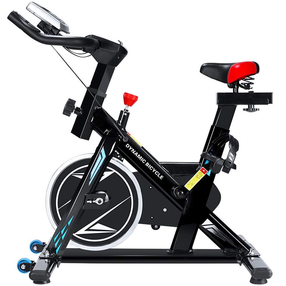 フィットネスバイク コンフォートバイク 屋内サイクリング自転車サイクルトレーナー心拍数フィットネス運動自転車静止エアロバイクで液晶ディスプレイ 健康エクササイズ器具 家庭用   B07RHC64NZ