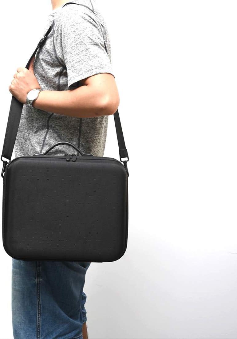 for MOBILEACCESSORIES TL PU EVA Portable Single Shoulder Storage Travel Carrying Cover Case Box for DJI Mavic 2 Pro//Zoom Sports Camera Black Color : Black