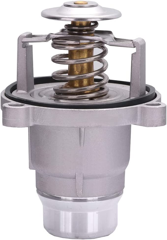 ZENITHIKE Engine Thermostat kit 11537586885 11537502779 fit for BMW 545i 550i 550i xDrive 645Ci 650i 740i 745i 745Li 750i 750Li,Original Equipment Thermostat Housing OE Replacement