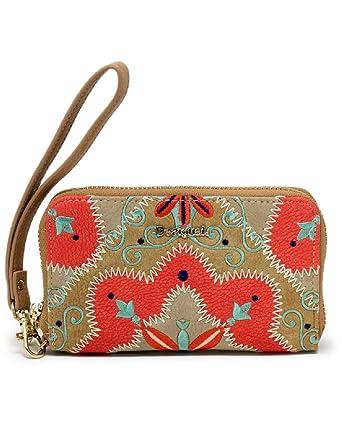 les ventes chaudes 0bc39 7338f Desigual Portefeuille Femme Mary Jackson Mini Zip