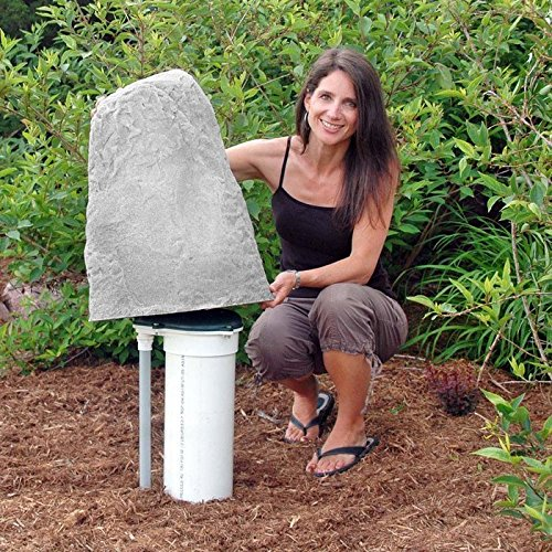 Artificial Rock Enclosure - Dekorra 107-FS  Rock Enclosure Model 107, Fieldstone