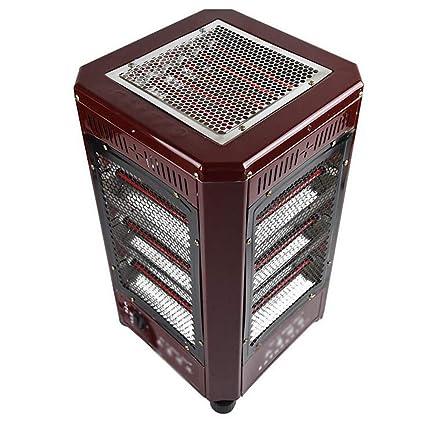 ARAYACY Hogar Calentador De área Grande/Estufa De Asado Calentador Eléctrico Calefacción Eléctrica Integral Ventilador