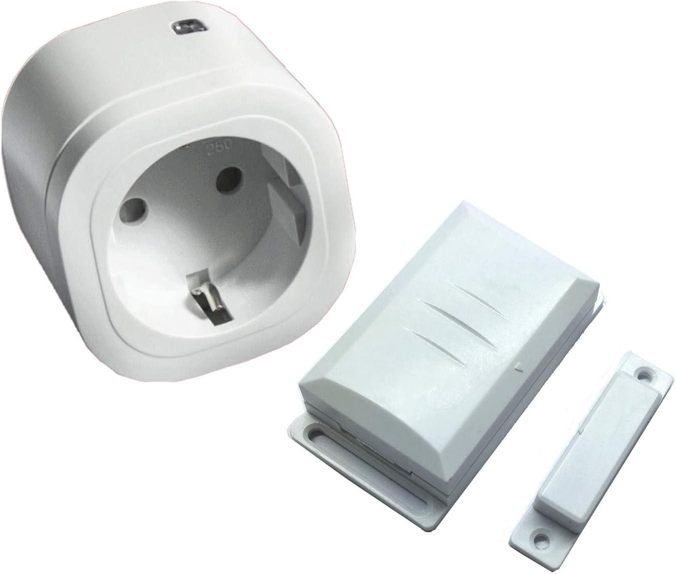 Intertechno-control de escape-juego de 1500 W mando-enchufe ITR-1500 y ventanas sensor DFM-1000: Amazon.es: Bricolaje y herramientas