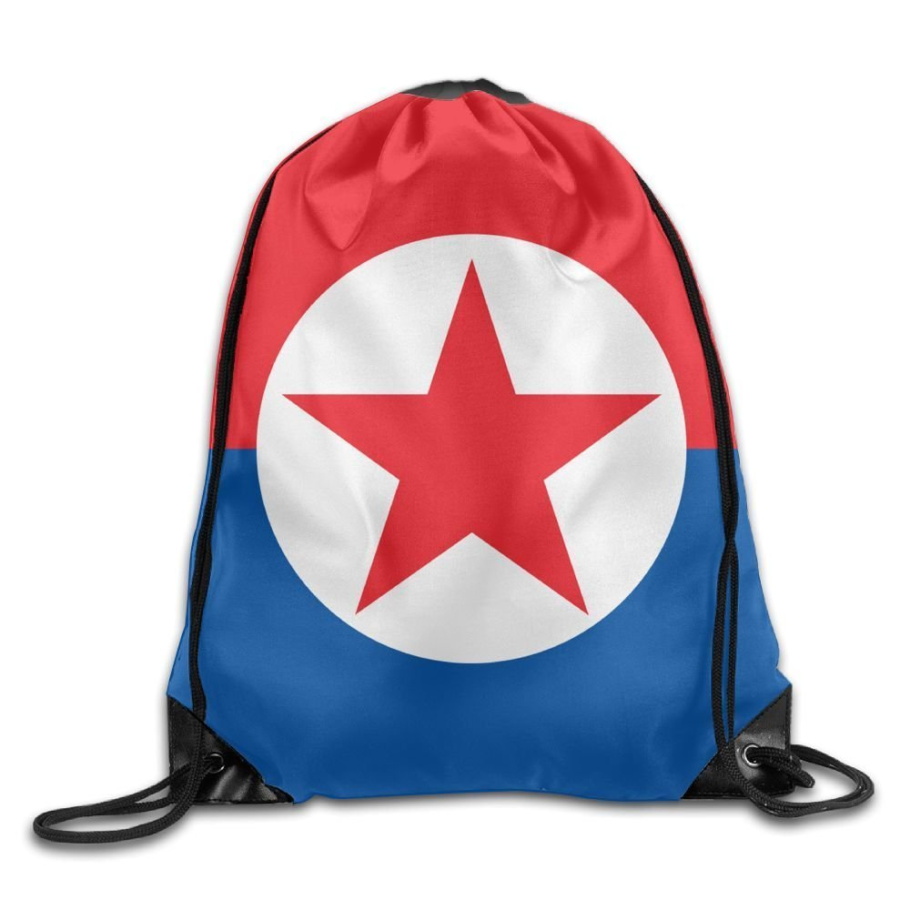 North South Korea FLAG Cool Gym Drawstring Bags Travel Backpack Tote School Rucksack