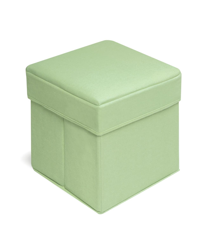 Amazon.com : Badger Basket Folding Storage Seat, Pink : Nursery Storage  Containers : Baby
