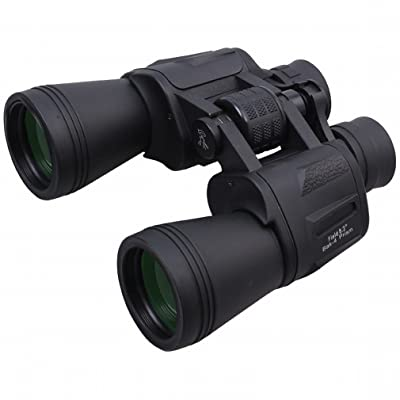 20 * 50 Télescope Imperméable à L'Eau Anti-Brouillard Portable Haute Puissance à Haute Définition Jumelles Vision Nocturne Non Infrarouge,Noir,20 * 50