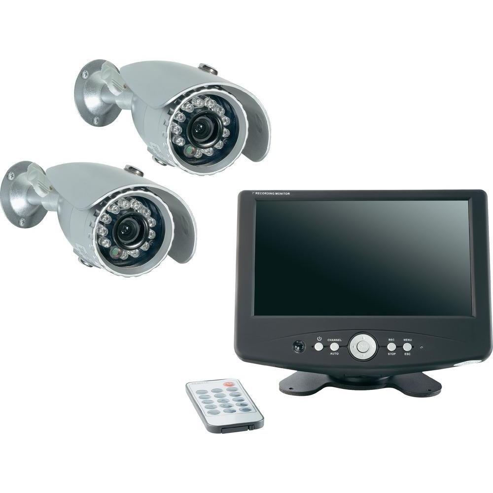 Renkforce Analog Videoüberwachungs-Set 2-Kanal mit 2 Kameras 808577 DVR