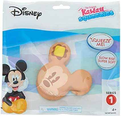 NEW Disney Squeeze Me Slow Rise Plush Mickey Mouse