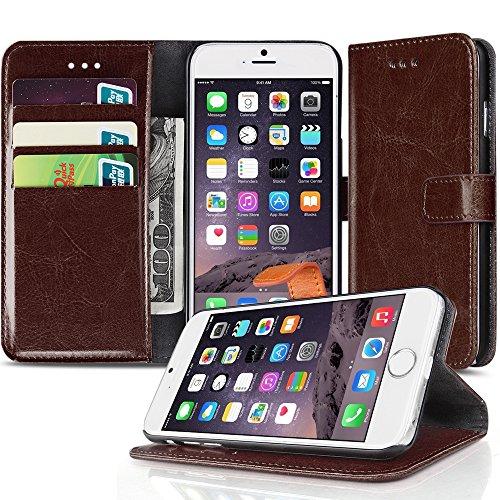 TNP iPhone Wallet Case Brown