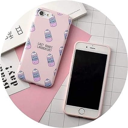 Fashion Colorful Korea Milk Bottle Case for iPhone 6 6S Plus 7 7 ...