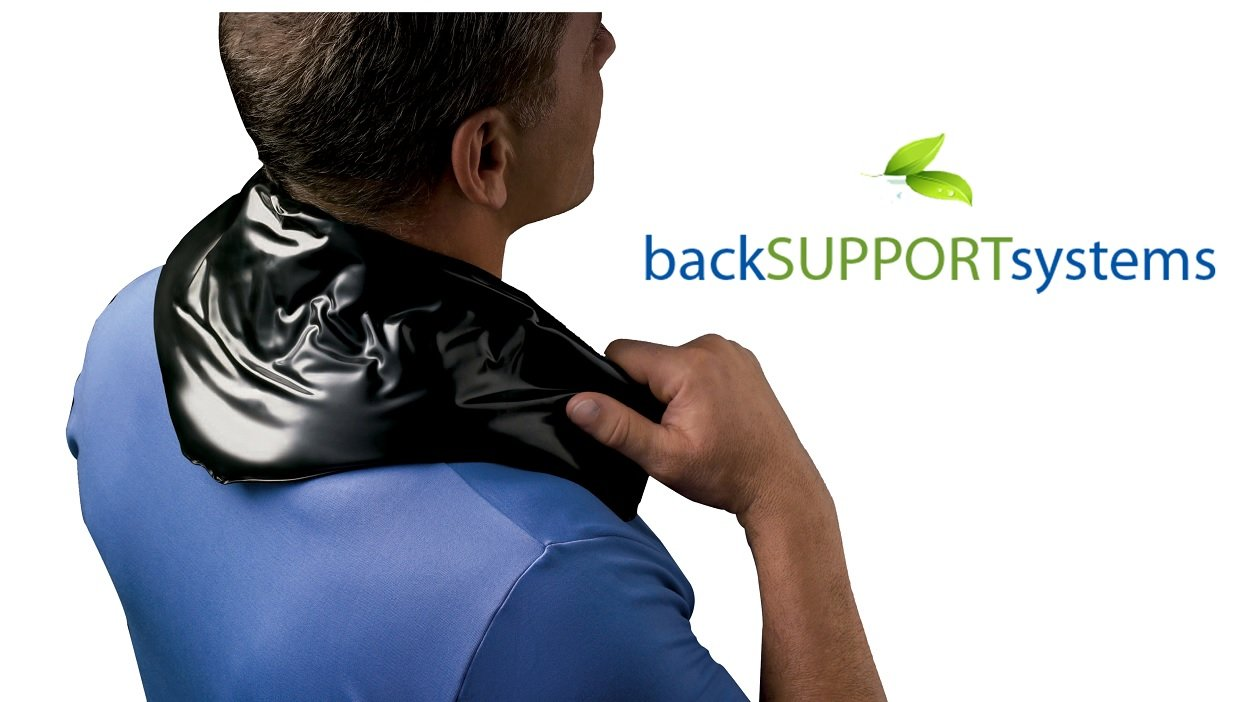 Back Support Systems Professional Cold Pack - Professional Medical Grade for all Injuries (6''x 23'' Hot & Cold Pack)