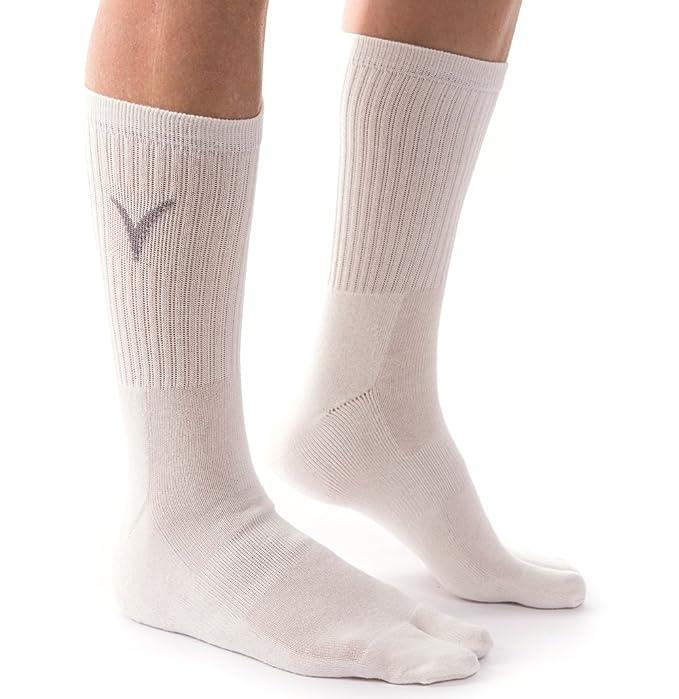 v-toe tabi Flip Flop calcetines - sólidos, rayas y patrones: Amazon.es: Ropa y accesorios