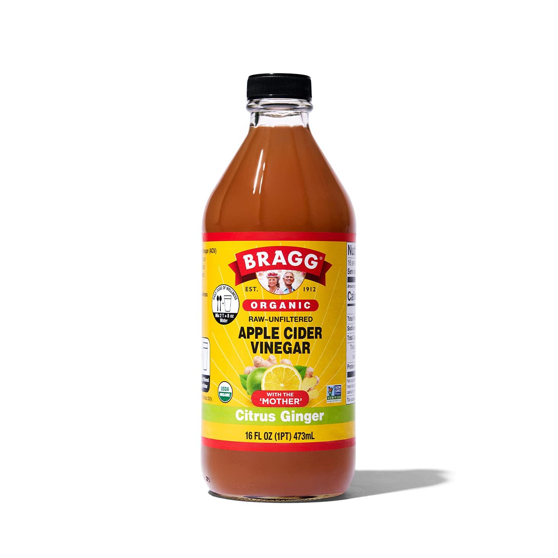 Bragg Organic Apple Cider Vinegar Blends 16oz, with Citrus Ginger