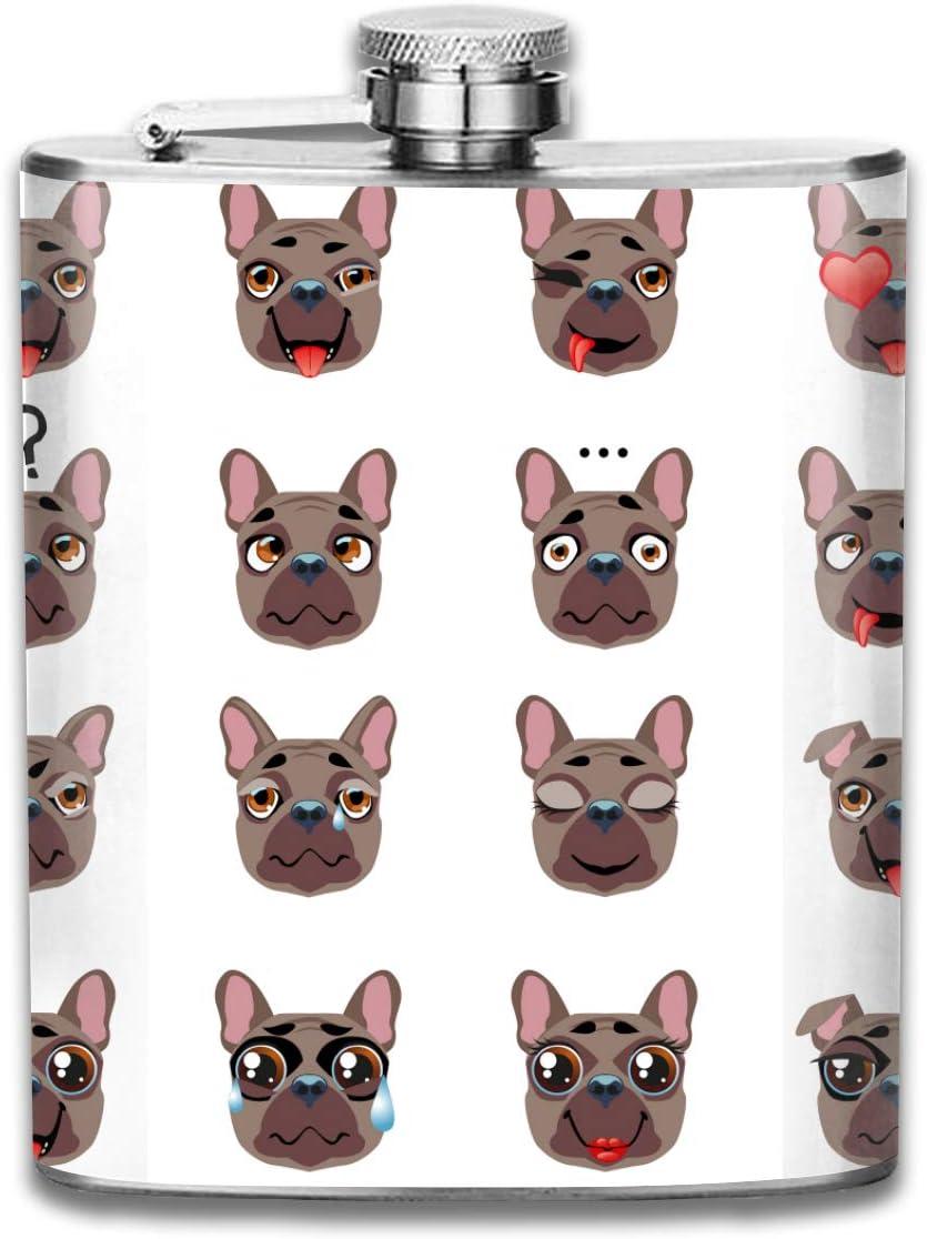 Bulldog francés Perro Emoji Regalo para hombres 7 Oz Prueba ...