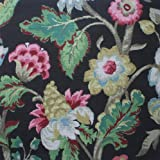 Elizabeth Floral Walnut Brown 96″ Rod Pocket Curtain Panels Pair, Cotton (Lined) Review