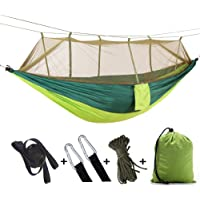 FomaTrade Camping Hammock Mosquito Net with Rain Fly Tent Tarp for Outdoor Windproof, Anti-Mosquito, Swing Sleeping…