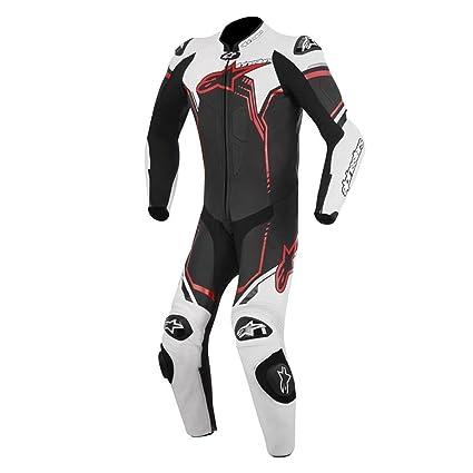 Mono para moto Alpinestars GP Plus 1PC negro / blanco / rojo ...