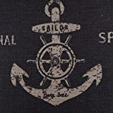 LINKWELL-18×18-Vintage-Marine-Anchor-Ship-Sea-Authentic-Burlap-Cushion-Covers-Pillow-Case