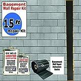 15 ft-Carbon Fiber-Basement Wall Crack Repair Kit