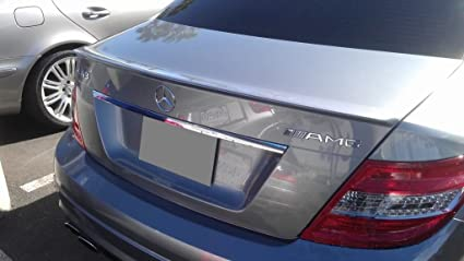 AMG Style Trunk Spoiler Avanti Tecnica 2008-2014 Mercedes-Benz C-Class 4-Door Sedan Unpainted W204