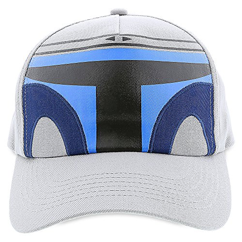 Star Wars Jango Fett Bounty Hunter Helmet Mask Gray Kids Youth Baseball Cap Hat
